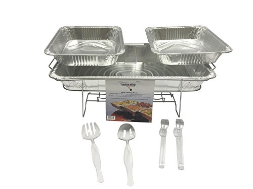 8 Pieces Disposable Chafing Buffet Set
