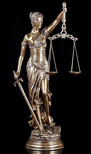 Justitia Statue 77,5 cm – in & Outdoor Giardino Figura decorativa