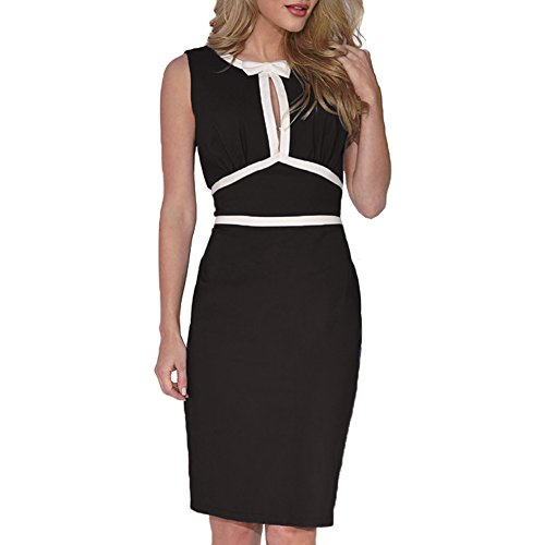 WOOSEA-Womens-Vintage-Sleeveless-Wear-to-Work-Cocktail-Party-Pencil-Dress