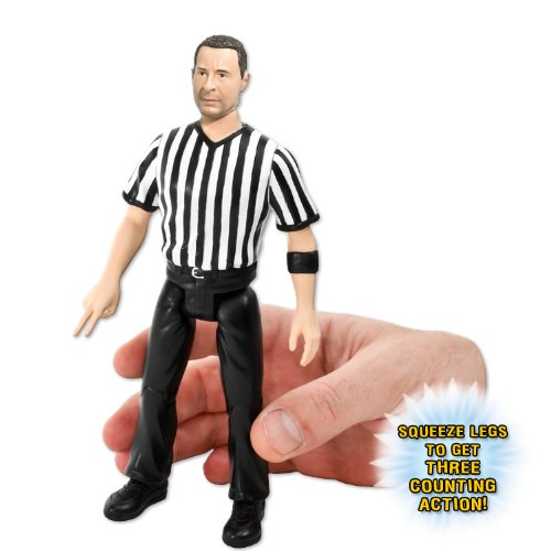 3 Counting and Talking Wrestling Referee Action Figure