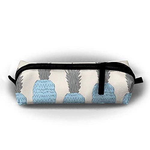 TY1WC Celeste Pineapple Washable Canvas Pen Holder Bags Stationery Pouch Pencil Pen Case ()