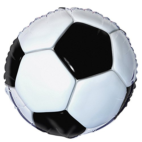 18 Foil Soccer Party Balloon