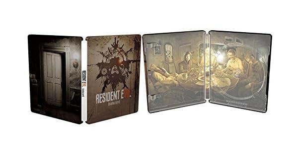 Resident Evil 7 : Biohazard - édition Steelbook [Importación ...