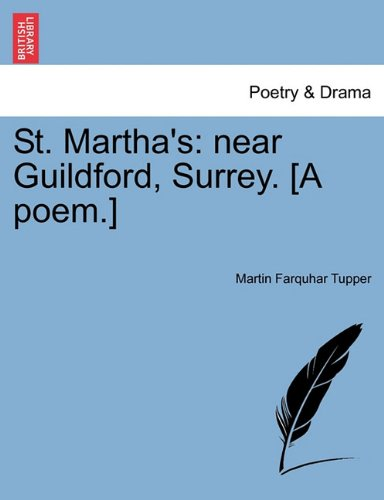 Download St. Martha's: near Guildford, Surrey. [A poem.] ebook