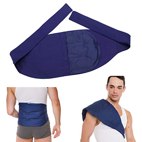 Sunny Two-in-one Pack Reusable for Back Neck Knee Relief Deep Muscle Gel Cold Wrap