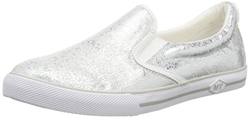 Marco Tozzi 24611, Women's Loafers Silver - Silber (Silver 941)