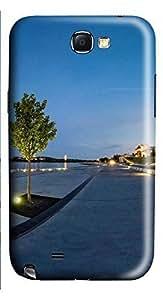 Samsung Note 2 Case Lake Burley Griffin 3D Custom Samsung Note 2 Case Cover WANGJING JINDA