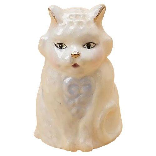 Jim Shore for Enesco Heartwood Creek Cat Thimble, 1-1/4-Inch - Enesco Thimble