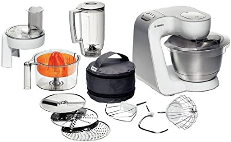 Bosch Styline Colour MUM5 - Robot de cocina, 900 W, color blanco: Amazon.es: Hogar
