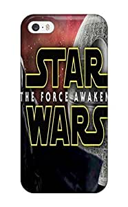 For DanRobertse Iphone Protective Case, High Quality For Iphone 5/5s Star Wars Awakens Skin Case Cover