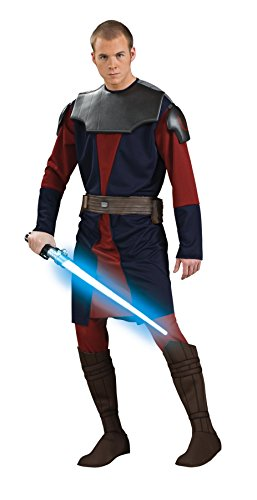 UHC Men's Anakin Skywalker Clone Star Wars Deluxe Fancy Costume, XL (44-46)]()