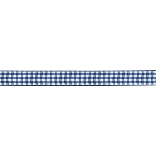 Denim Gingham (American Crafts 1/2-Inch Gingham Ribbon, 3-Yard Spool, Denim)