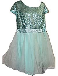 Women Short Sequins Homecoming Dress Prom Gown Mint Size 22