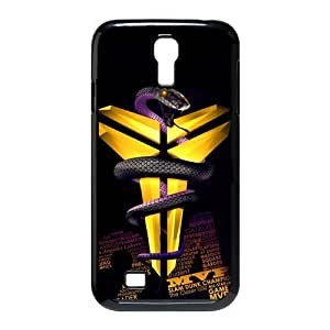 Coolest Los Angeles Lakers Kobe Bryant Samsung Galaxy S4 I9500 Case Cover #24 Logo Peter Pan Black Mamba VINO Rattlesnake
