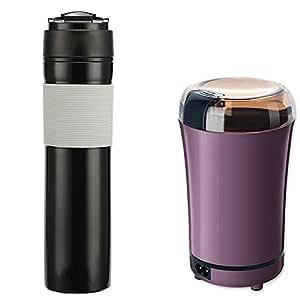 MQQ Té portátil cafetera y Botella Cafetera Caliente y fría café ...