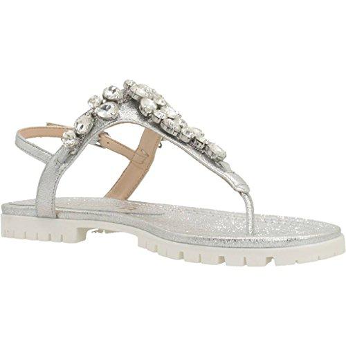 y Chess mujer color SE para Silver sandalias Unisa para y Sandalias mujer plata zapatillas marca modelo Silver zapatillas dwOqd61p