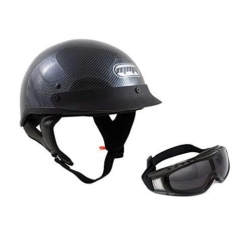 Motorcycle Half Helmet Cruiser