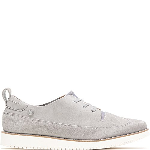 (Hush Puppies Womens Chowchow WT Oxford Frost Grey Suede 6.5 M (B))