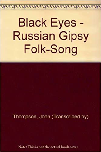 black eyes russian gipsy folk song