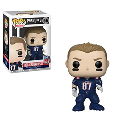 Funko POP! NFL: Patriots - Rob Gronkowski (Color Rush): Toys & Games