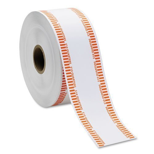 omatic Coin Flat Wrapper Rolls, Quarters, $10, 1900 Wrappers/Roll by MMF Industries⢠()