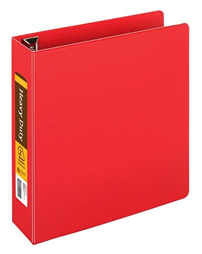 Construction Recycled Binder - [in]Place Heavy-Duty Easy Open D-Ring Binder, 2
