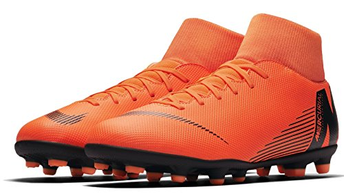 Total Deporte Adulto Black 5 Unisex Superfly Orange 42 T 6 MG Club Nike de EU 810 Zapatillas 8WwgYqz11x