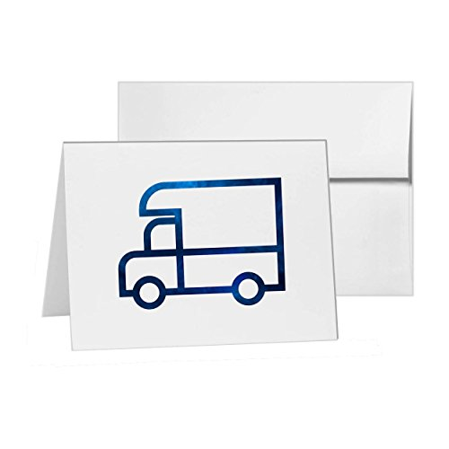 Delivery Truck Movers Moving Services, Blank Card Invitation Pack, 15 cards at 4x6, Blank