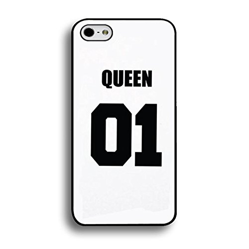 Best Friend Lovers Iphone 6 Plus/6s Plus 5.5 Inch Case,Generic Fashional King 01 And Queen 01 Couple Matching Phone Case Cover for Iphone 6 Plus/6s Plus 5.5 Inch Boyfriend And Girlfriend Unique