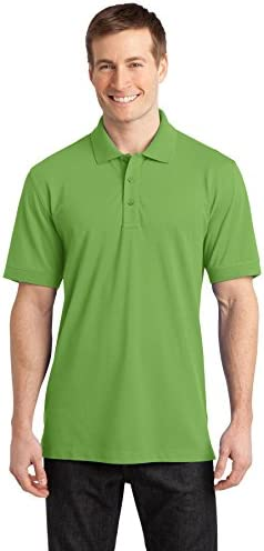 Port Authority Men`s Stretch Pique Polo
