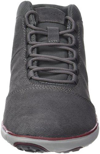 Gris Sneakers A Hautes Homme Anthrazit Geox U Nebula Anthracite tq00TZ