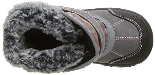 Lurchi Fido-Tex - Zapatos primeros pasos de cuero para niña Gris - Grau (Grey 45)