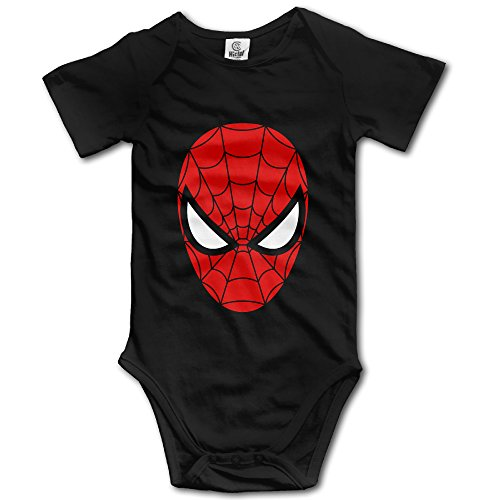 Price comparison product image Famouse Hero Spider Man Face Mask Baby Onesie Toddler