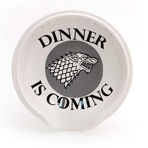 Game of Thrones Spoon Rest - Direwolf Dinner is Coming