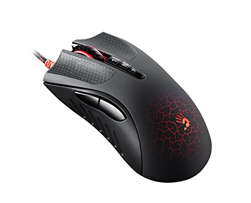 (A4-Tech Gaming mouse A4Tech Bloody A90 Blazing USB Metal XGlide Armor Boot)