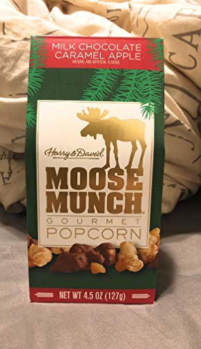 Moose Munch Milk Chocolate Caramel Apple 4.5 oz Popcorn