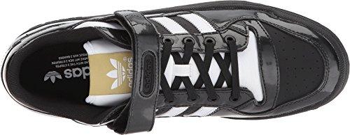 Adidas Mens Forum Lo Originali Scarpa Casual Core Nero / Calzature Bianco / Oro Metallizzato