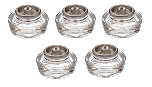 D'Light Online HD12-144 Liquid Votive Candles Fuel Cells 12 Hour Votive Fuel Cell Oil Candle Cartridge Set of 144