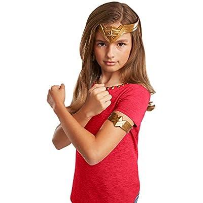 Mattel DC Wonder Woman Headpiece and Armband Dress Up Pieces Playset: Toys & Games