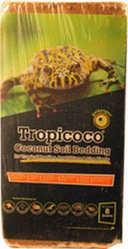 - Galapagos (05010 Tropicoco Coconut Soil Bedding, 8-Quart, Natural