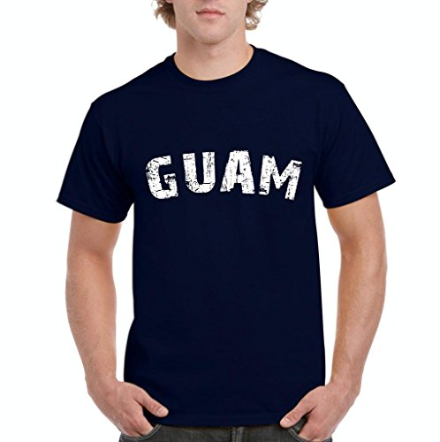 Kohl's Halloween Shirts (Xekia Guam Micronesia Tropical Island Men's T-Shirt Tee XXX-Large Navy)