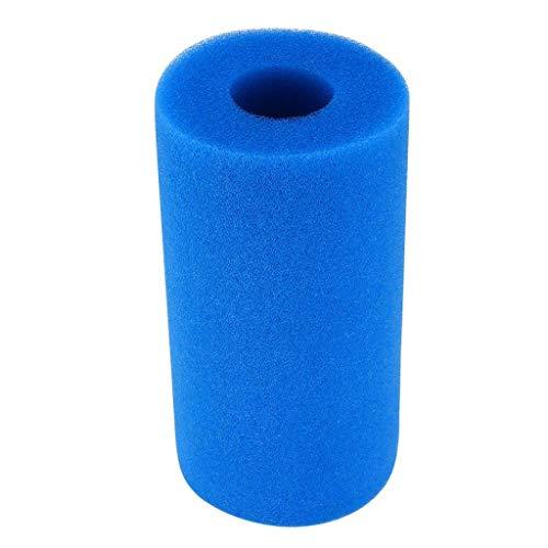 Filter Foam Sponge Reusable Washable Sponge Foam Cartridge Suitable Pool Cleaner Foam Filter Cleaning Tool (Blue) ()