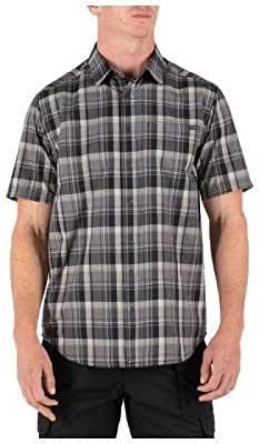 5.11 Tactical - Hunter Plaid Short Sleeve - Plaid