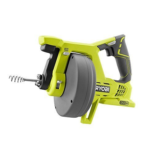 Ryobi P4001 18-Volt ONE+ Cordless 25 foot Drain Auger (Tool Only - Battery and Charger NOT Included), Model: P4001, Outdoor & Hardware Store by Hardware & Outdoor
