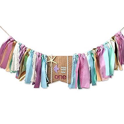 Amazon.com: Decoración de cumpleaños para bebé – 1er ...