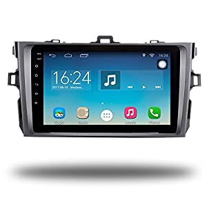 Android 6.0 Quad Core Car GPS Radio Player Navi for Toyota Corolla 2007-2011 Car Stereo Head Unit GPS Navigation Bluetooth WIFI Navi (Android 6.0 2+32G for Corolla 07-11)