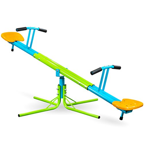 Pure Fun Heavy Duty 360 Kids Swivel Seesaw