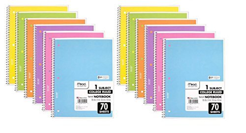 12 Subject Notebook - 2