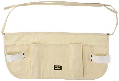 aft CLC Custom Leathercraft C12 , 5 Pocket Canvas Waist Apron Toolbelt (Pro Shop Apron)