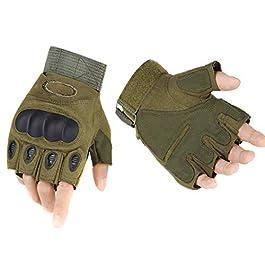 ThreeH Half Finger Hard Knuckle Gloves GL07
